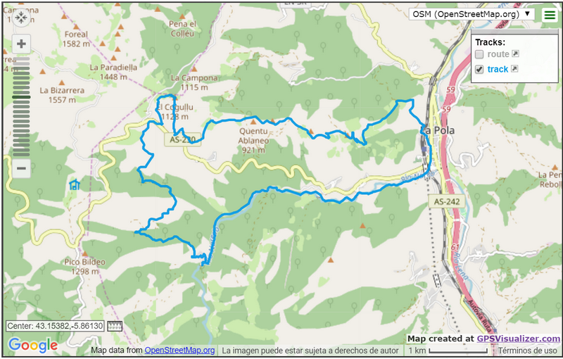 Trail largo 21km